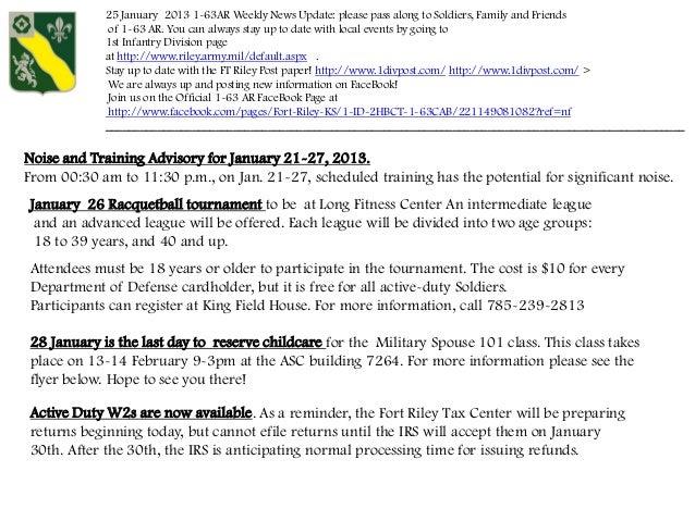 1 -63 24 Jan Weekly  Update