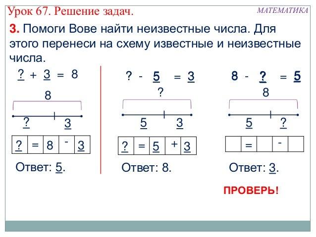Решение задач. МАТЕМАТИКА3.