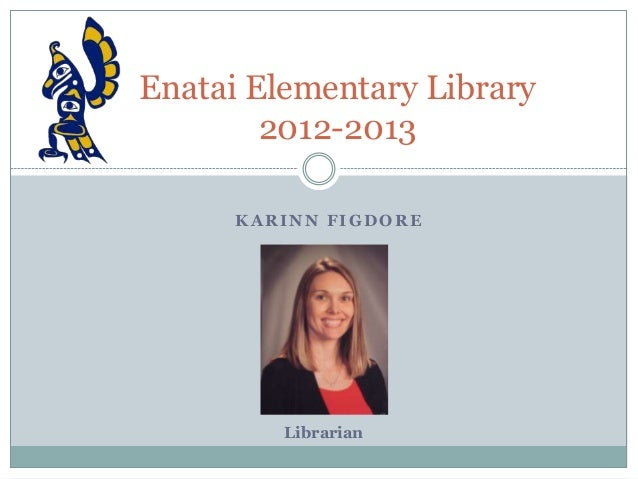 Enatai Elementary Library- January 2013