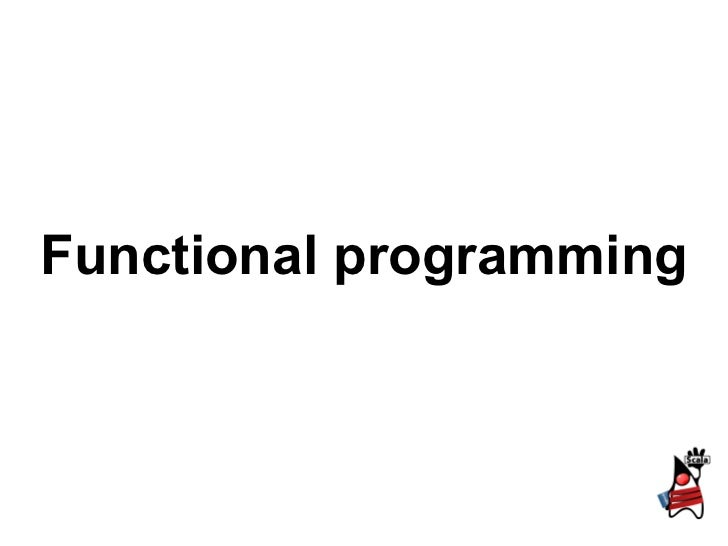 1.7 functional programming