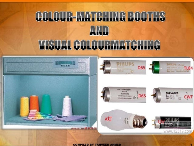 1.7 textile color matching booth