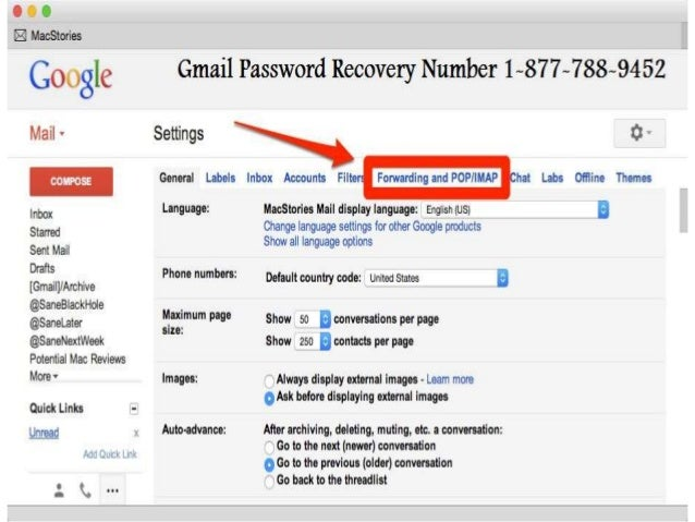 gmail how to change recovery email