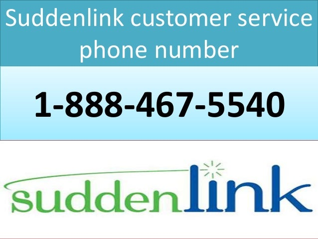 1 888 467 5540 suddenlink customer service phone number