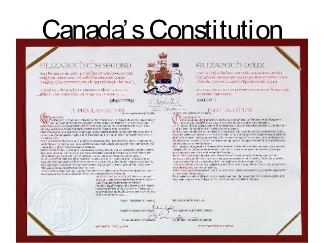 1.9 canadas constitution website