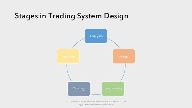 Design patterns trading system