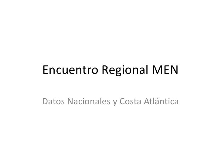 Encuentro Regional MENDatos Nacionales y Costa Atlántica