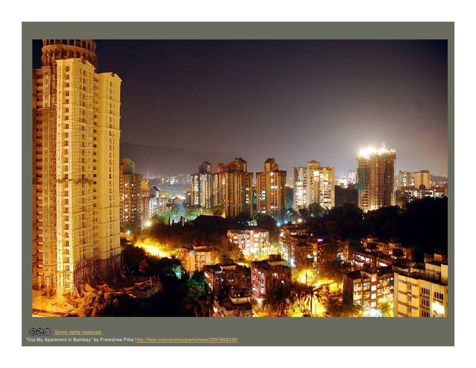 """Some rights reserved. """"Out My Apartment in Bombay"""" by Premshee Pillai http://flickr.com/photos/premshree/2057669339/"""