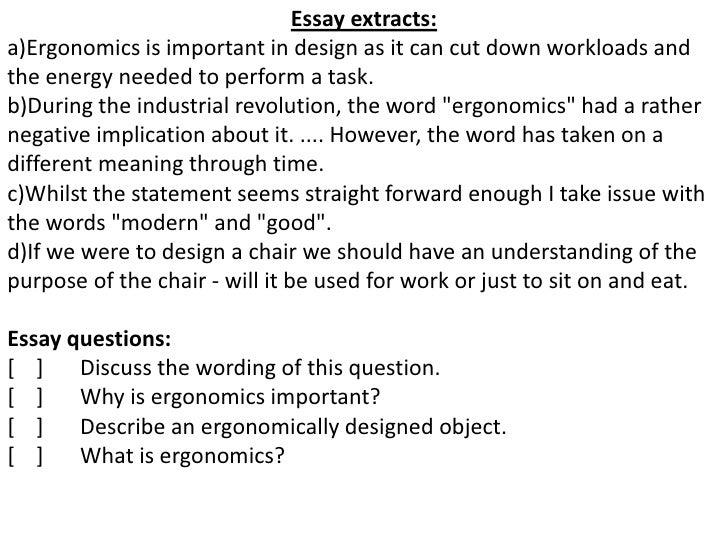 writing an essay on an interview