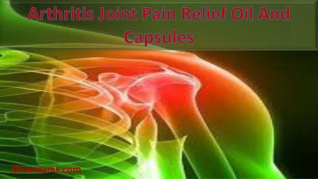 Arthritis Joint Pain Relief Oil And Capsules