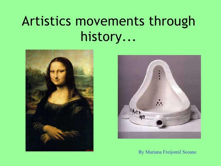 1. artistics movements through history...