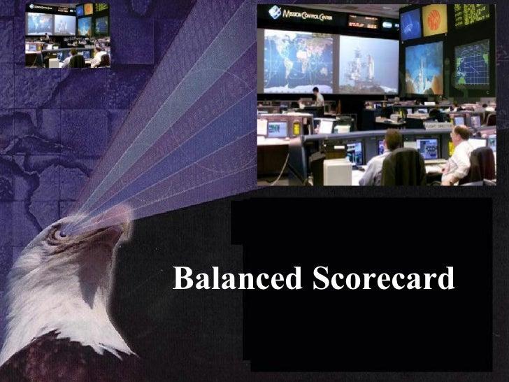 1.  balanced scorecard