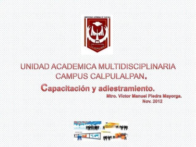 Capacitacion y_adiestramiento en Mexico.