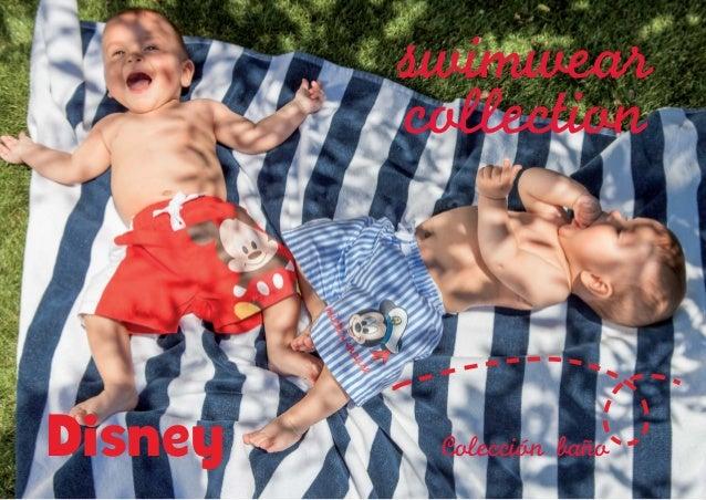 swimwear collection 2  3  Disney  Coleccion bano