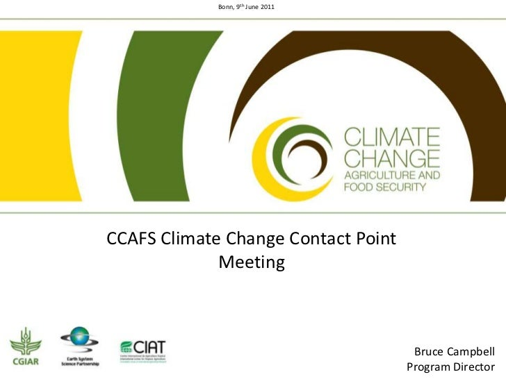 CG contact point meeting in Bonn - Introduction