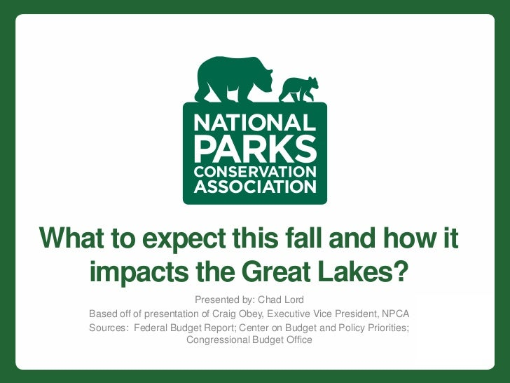 What to expect this fall and how it   impacts the Great Lakes?                            Presented by: Chad Lord    Based...