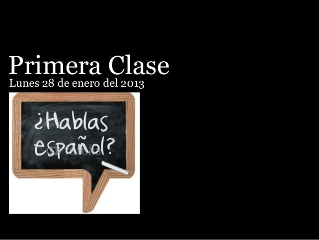 1 clase