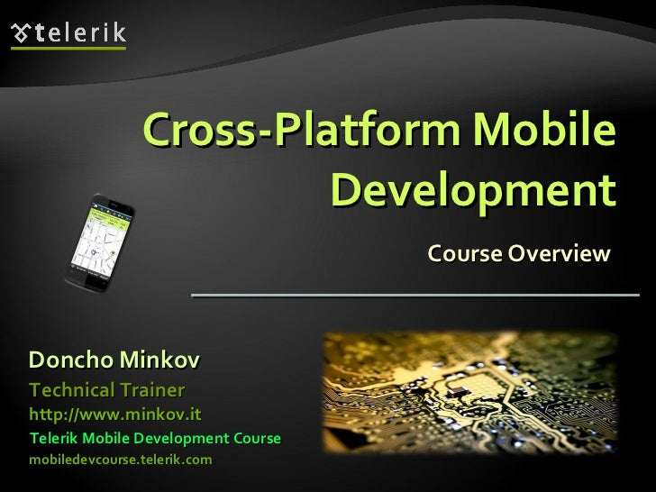Introduction to Cross-platform Mobile Development Course