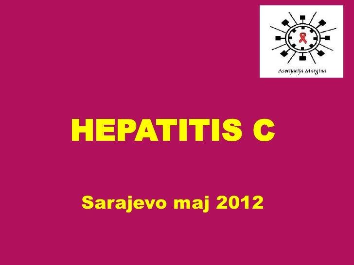HEPATITIS CSarajevo maj 2012