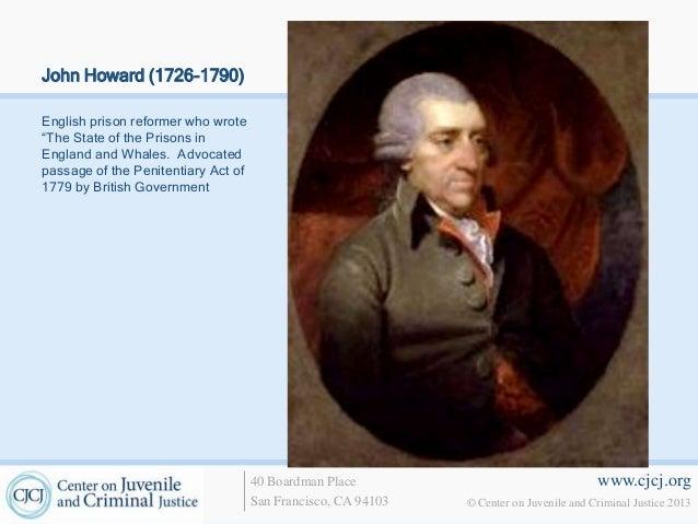 john howard english prison reformer