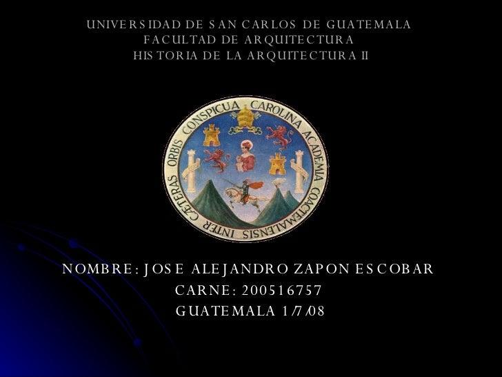 1. El Renacimiento Alejandro Zapon