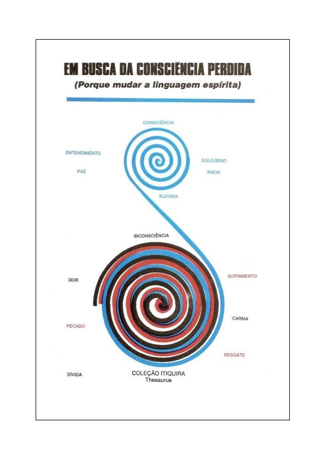 José Antônio Cunha e Silva  EM BUSCA DA CONSCIÊNCIA PERDIDA (PORQUE MUDAR A LINGUAGEM ESPÍRITA)  Revisão e digitação Luís ...