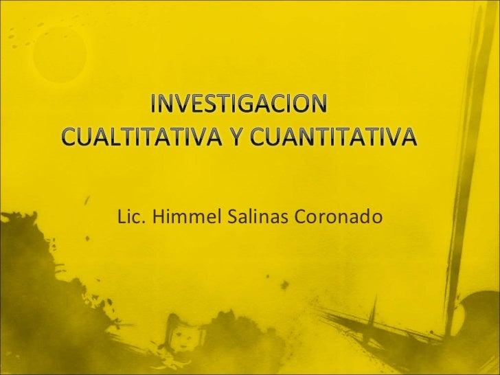 Lic. Himmel Salinas Coronado