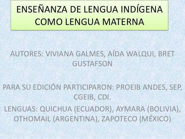 Ense anza de la lengua indigena como lengua materna exposici n for Cuales son las partes de un periodico mural