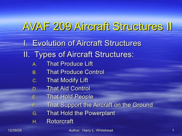 1 Evolution And Type Of Structures