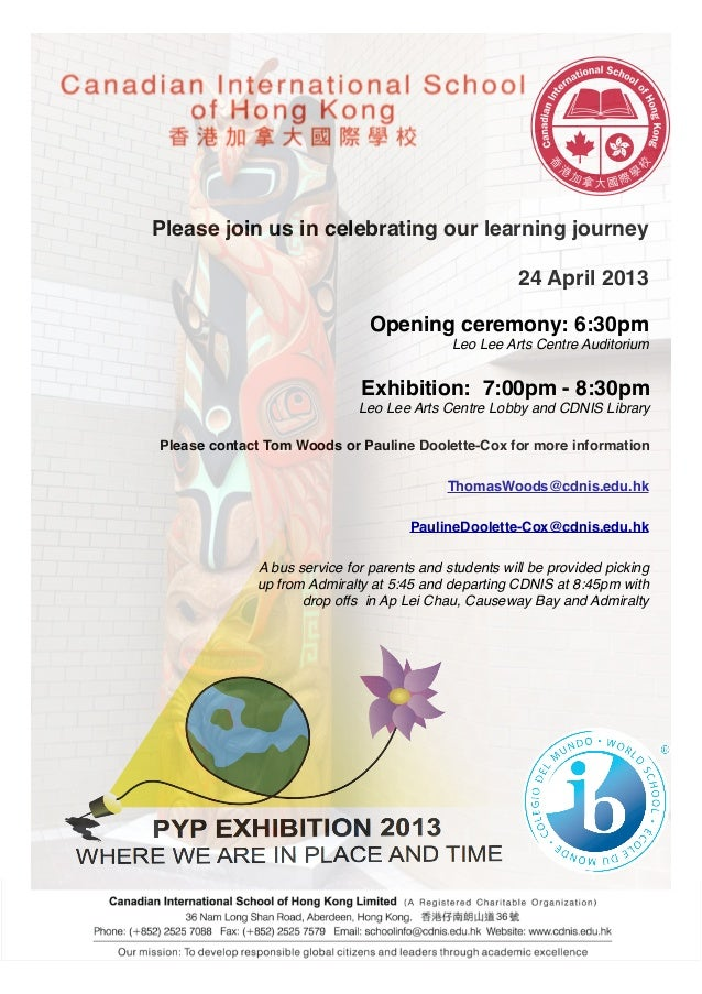 Please join us in celebrating our learning journey                                                       24 April 2013    ...