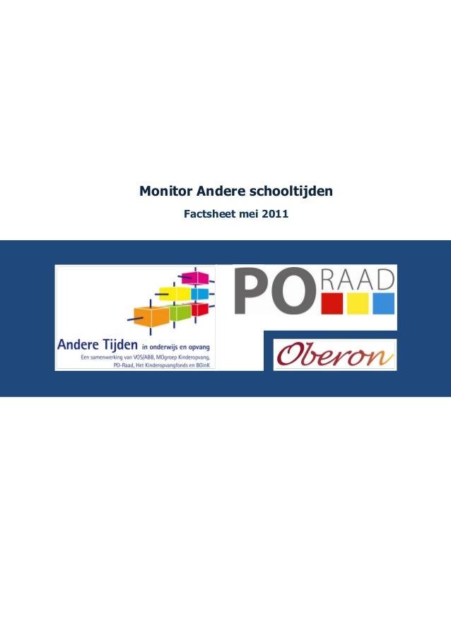 1. factsheet monitor_andere_schooltijden_20-5-2011