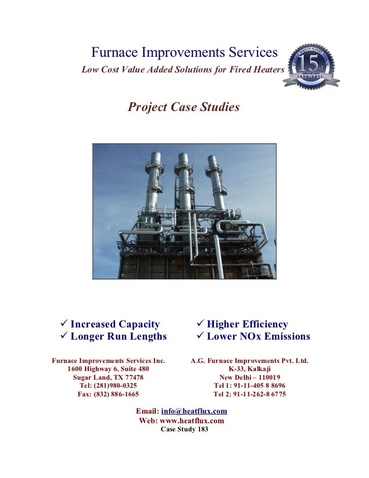 FIS Case Studies- Executed Projects Only