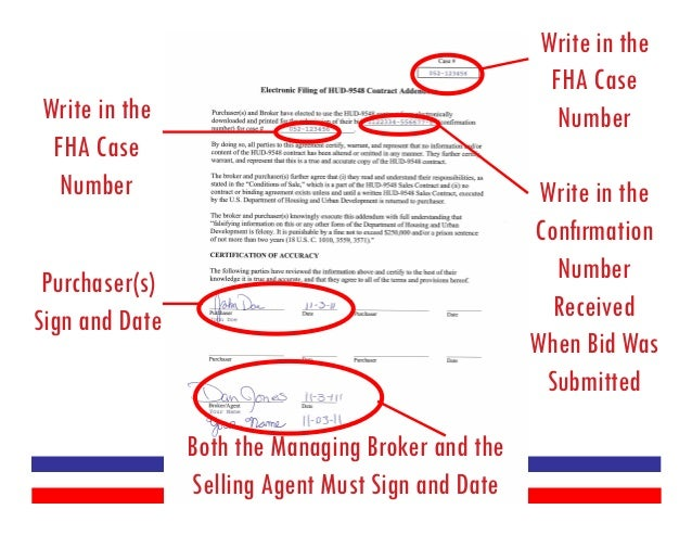 Fha case number assignment
