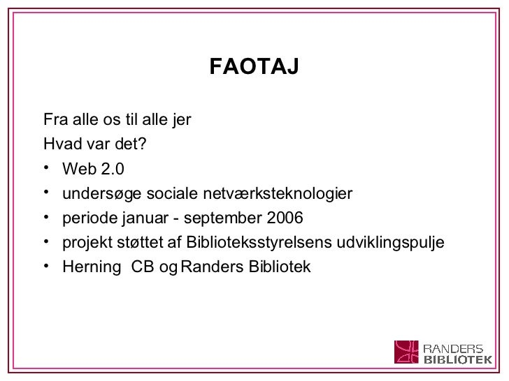 1 Hvad Er Web 2.0 Og Sociale NetvæRksteknologier