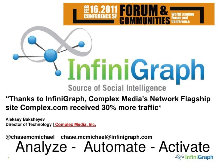 Forum Con - Chase McMichael - infini Graph