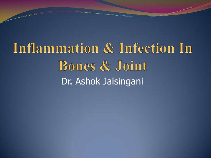 Inflammation & Infection in bones & joint
