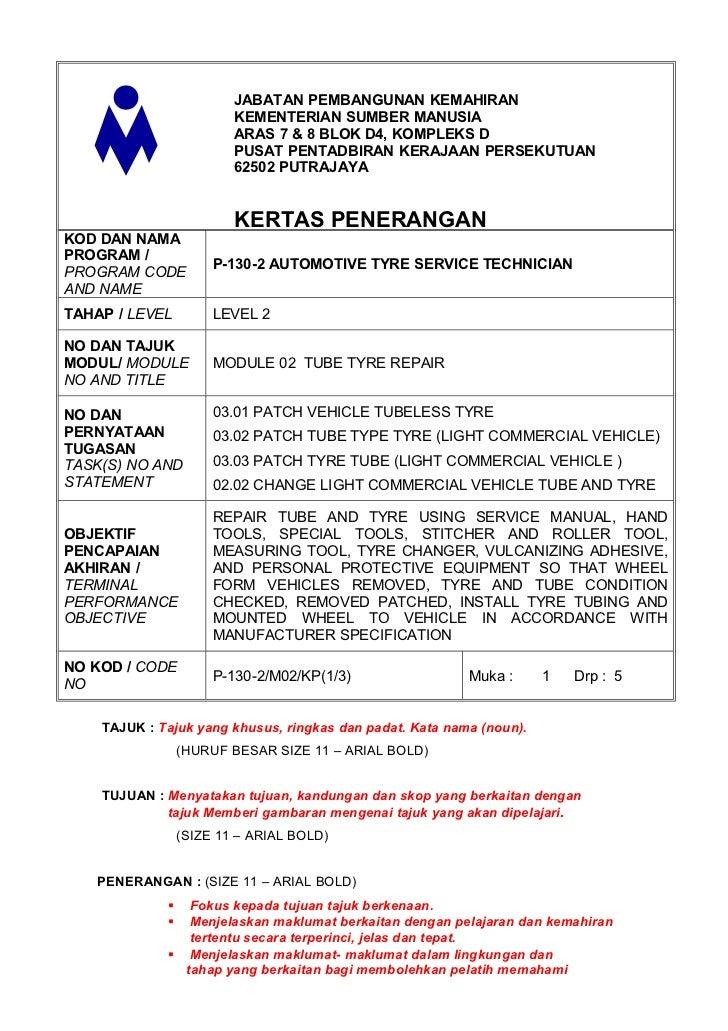 JABATAN PEMBANGUNAN KEMAHIRAN                         KEMENTERIAN SUMBER MANUSIA                         ARAS 7 & 8 BLOK D...