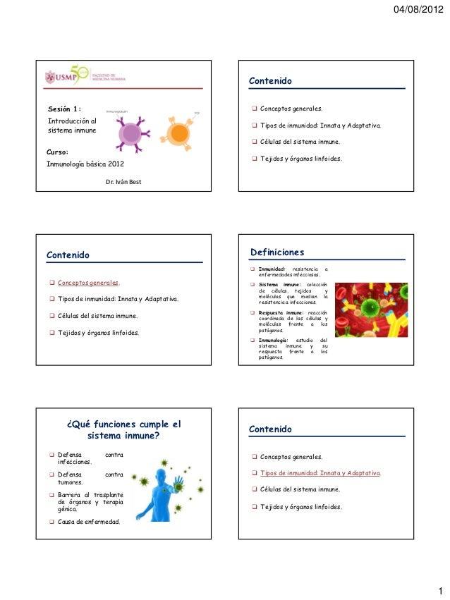 1. introduccion al sistema inmune