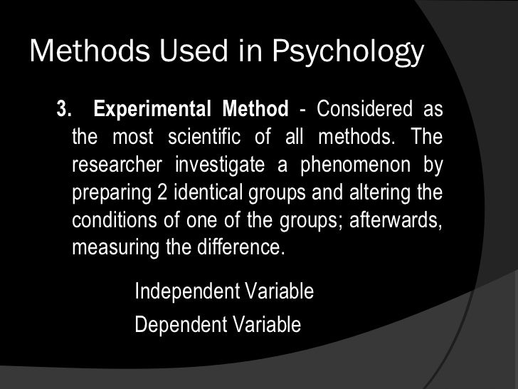 research methods used in psychology Psya4 past research methods questions wwwloopacouk – a psychology revision sajan devshi – 2014 .