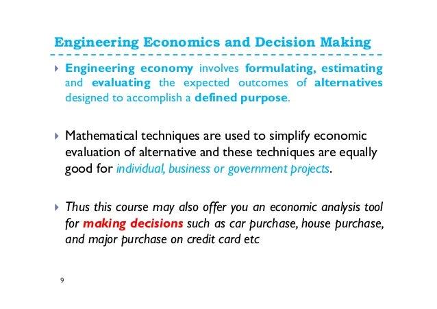 Economic Assignment