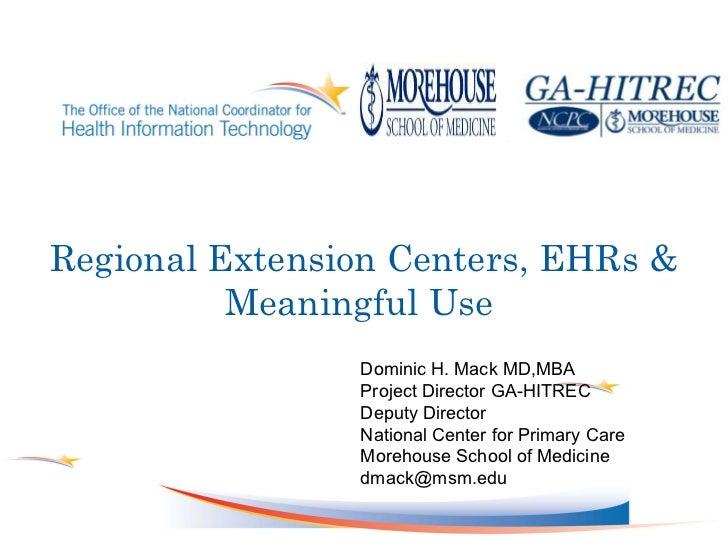 1. keynote dominic mack   morehouse school of medicine