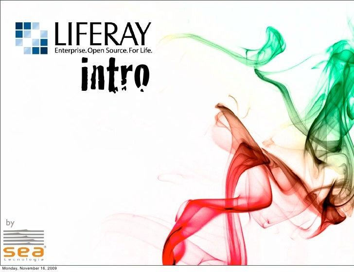 1. Liferay Intro