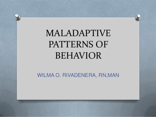 What Is Sexually Maladaptive Behavior