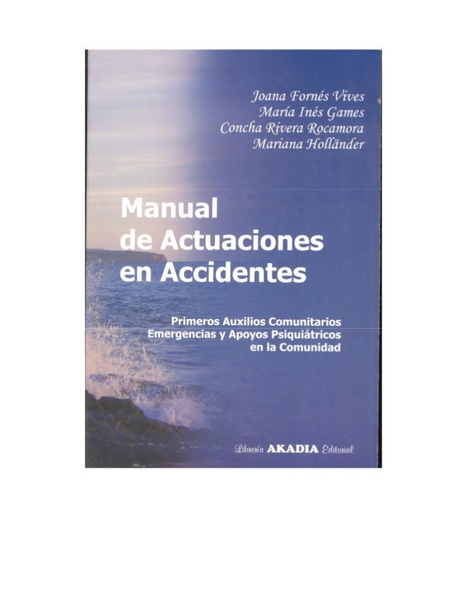 1   manual de actuaciones en accidentes