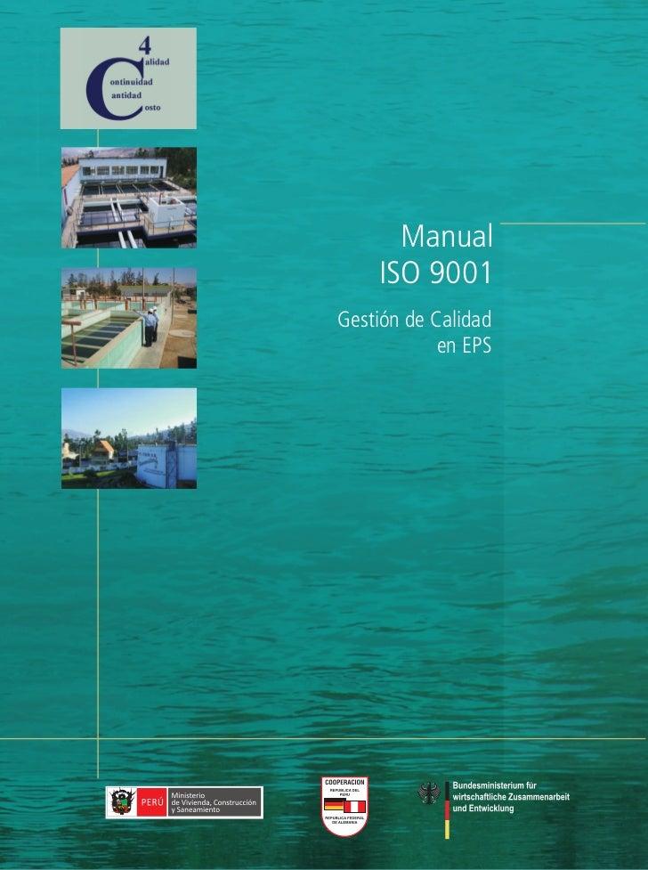 Manual    ISO 9001Gestión de Calidad            en EPS