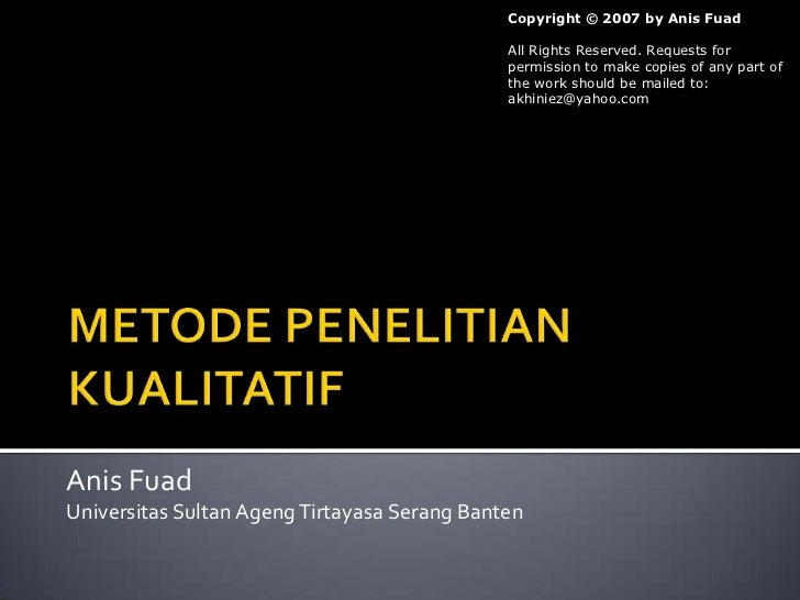 Copyright © 2007 by Anis Fuad                                              All Rights Reserved. Requests for              ...