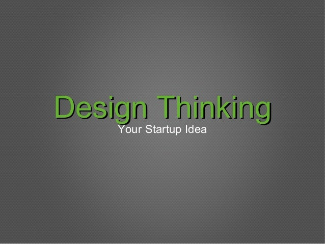 The Intersection of Design and Entrepreneurial Thinking | Munjal Shah, Charles River Ventures