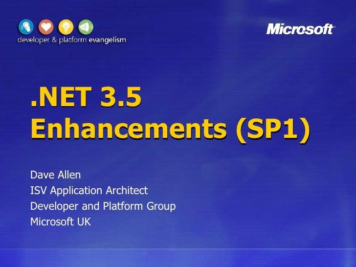 ASP.NET 3.5 SP1