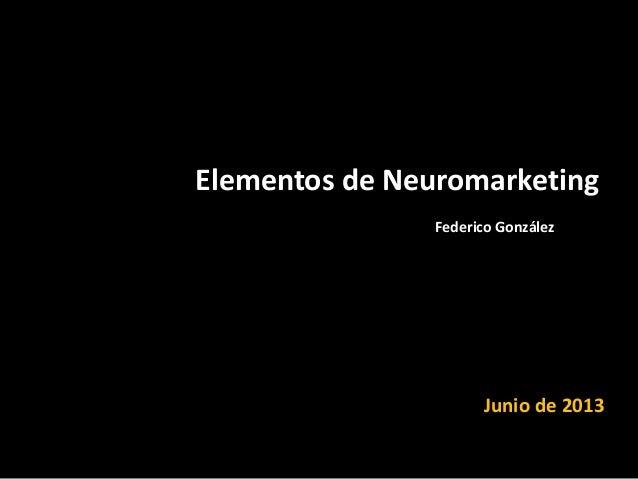 Neuromarketing - Visión panóramica