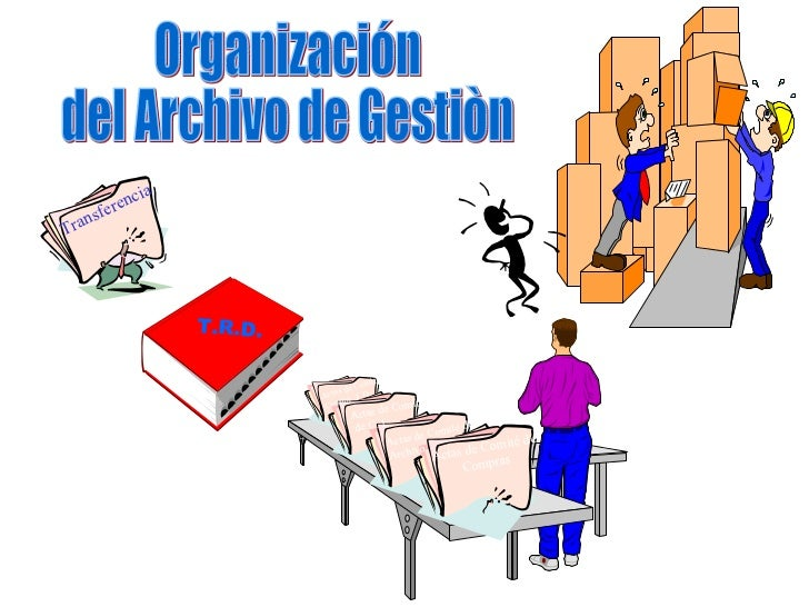 Organización del Archivo de Gestiòn T.R.D. Transferencia Actas de Comité de Compras Actas de Comité de Archivo Actas de Co...