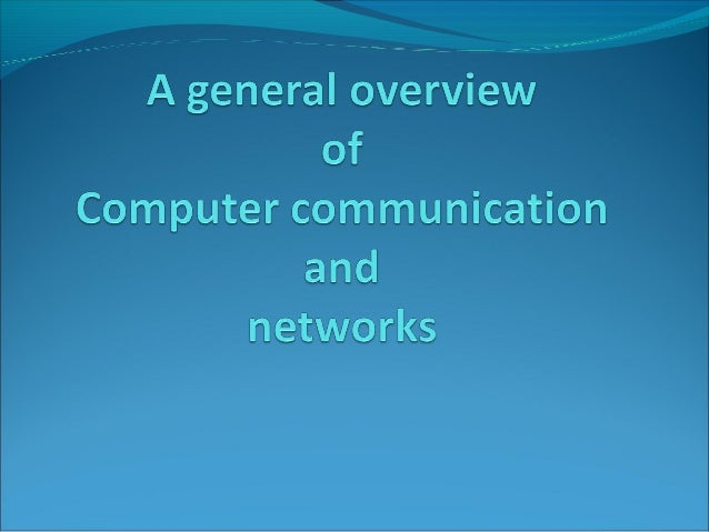 Introduction A general overview of signal encoding You will learn why to use digital encoding, how signal is transmitted...